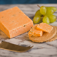 Double Gloucester Cheese with Chives & Onion