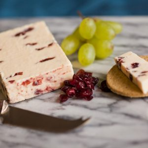 Greenfields Wensleydale & Cranberry Cheese